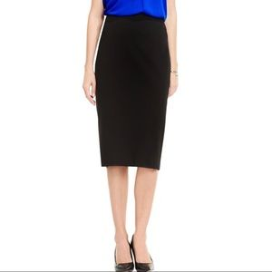Vince Camuto Black Knit Pull On Pencil Skirt Small